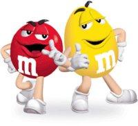 M&M's spokescandies
