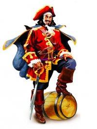 Captain Morgan mascot