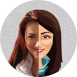 Avatar from Photo Design Visual Content Space
