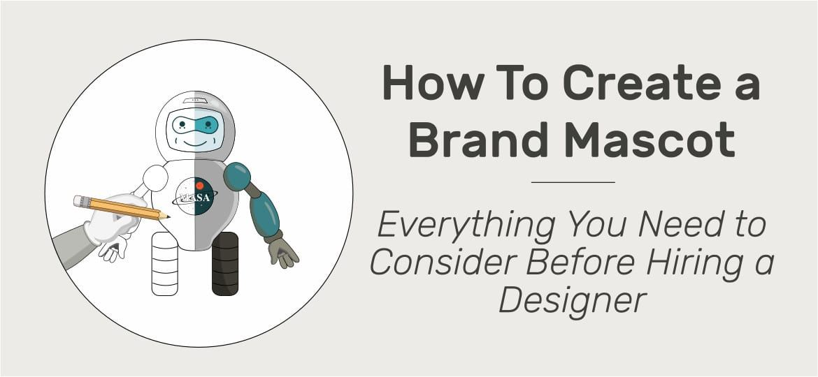 How to Create a Mascot For a Company or Personal Brand. Step-by-step Guide